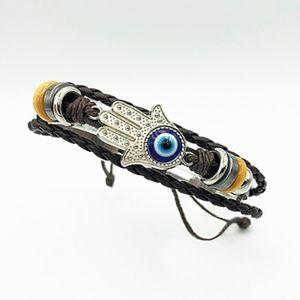 Other - Men's Hamsa Hand & Evil Eye Adjustable Bracelet